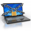 Locked internet access — Stock Photo #6046377