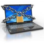 Locked internet access — Stock Photo #6046377