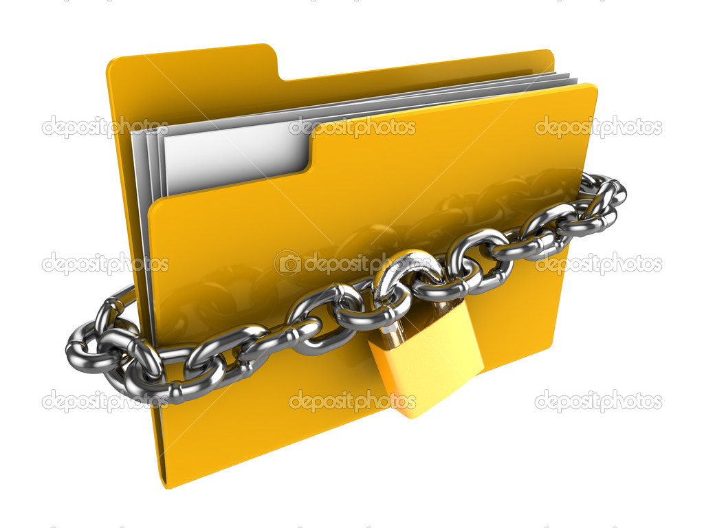 Locked folder — Stock Photo © mmaxer #6046405