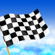 Stock Photo: Start flag