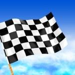 Start flag — Stock Photo