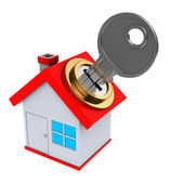 Locked house — Stock Photo