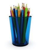 Penicils colorato — Foto Stock