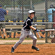 Boy's Baseball Batter — Stock Photo