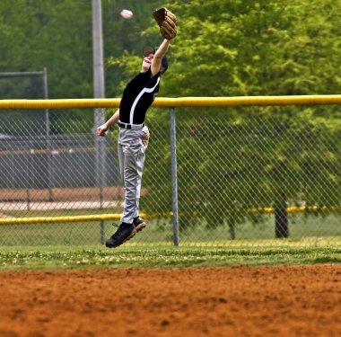 Young Boy Baseball Player