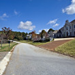 Large Homes in Subdivision — Stock Photo