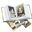 Old Family Photos and Book — Foto de Stock