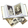 Old Family Photos and Book — Stock Photo #6209314
