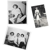 Collage of Old Photos — Stock Photo