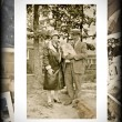 Vintage Photo of Family with Baby — Foto de Stock