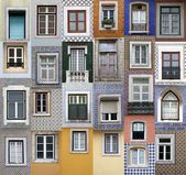 Windows lisboa — Foto de Stock