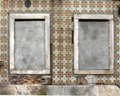 Lissabon windows — Stockfoto