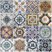 Lisbon tiles — Stock Photo