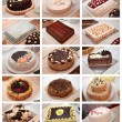 Stock Photo: Various cakes