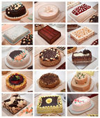 Various cakes — Stock Photo
