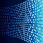 Abstract binary digital code — Stock Photo