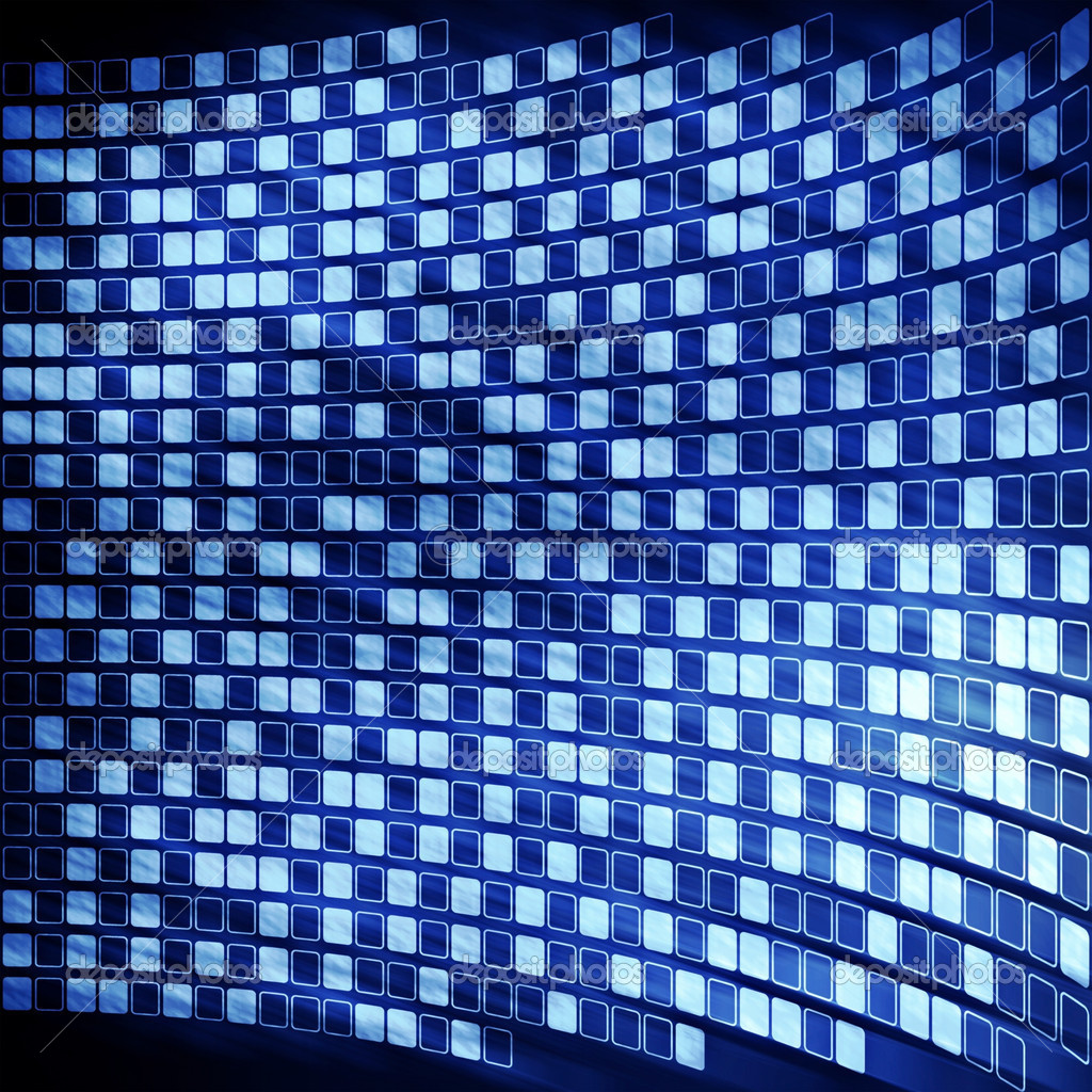 Abstract cyberspace digital blue background — Stock Photo #6216673