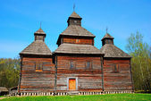 Old wooden church building — Stock Photo
