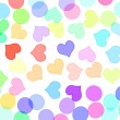 Stock Photo: Hearts and circles