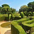 Parc del Laberint d'Horta in Barcelona, Spain - Stock Photo