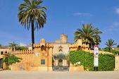Desvalls Palace in Parc del Laberint d'Horta in Barcelona, Spain — Foto de Stock