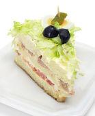 Vegetables sandwich — Stock Photo