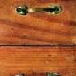 Ancient wooden drawers — Stock Photo #5542633