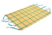 A makisu, a japanese bamboo mat — Stock Photo