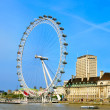 London Eye, in London, United Kingdom — Stock Photo #5599347