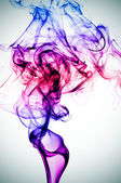Smoke of different colors — Stock Photo