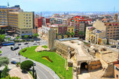 Remains of roman circus of Tarragona, in Spain — Stock Photo
