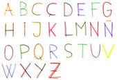 Alfabetet — Stockfoto
