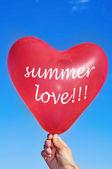 Letní láska — Stock fotografie