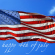 Happy 4th of July — Foto de Stock