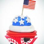 American cupcake — Stock Photo #5788226