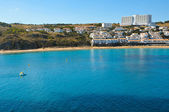 View of Arenal d'es Castell beach in Menorca, Balearic Islands, — Stock Photo