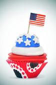 American cupcake — Foto Stock