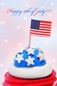 Happy 4th of july — 图库照片