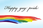Happy gay pride — Stock Photo