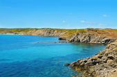 View of Favaritx coast in Menorca, Balearic Islands, Spain — Stock Photo