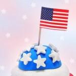 amerikanska cupcake — Stockfoto #5966342