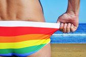 Gay beach — Stock Photo