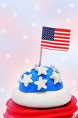 American cupcake — Stock Photo