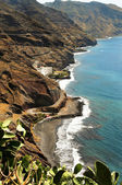 Gaviotas Beach in Tenerife, Canary Islands, Spain — Stock Photo