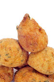 Cod fritters — Stock Photo