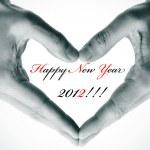 felice anno nuovo 2012 — Foto Stock