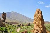 Roques de Garcia in Teide National Park, Tenerife, Canary Island — Stock Photo