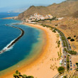Teresitas Beach in Tenerife, Canary Islands, Spain - Stock Photo
