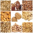 Royalty-Free Stock Photo: Nuts collage