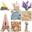 Wellness collage - Stock Photo